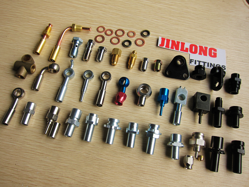 Banjo fitting jinlong hose and fittings brake lines co